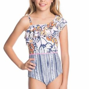 NWT MAAJI GIRLS SIZE 8 12 REVERSIBLE ONE PIECE SUI